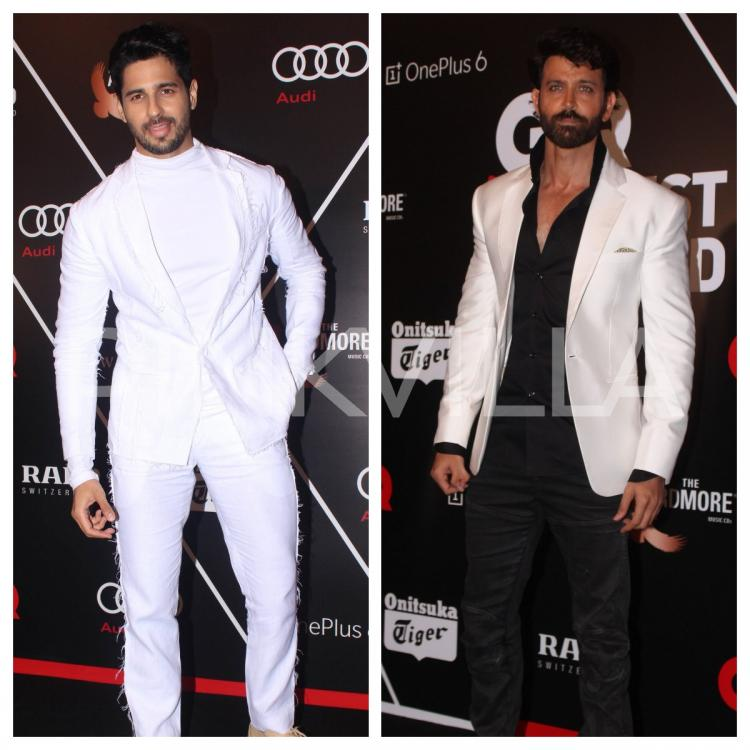 laest technology top-rated authentic classic styles GQ 100 Best Dressed 2018: Hrithik Roshan and Sidharth ...