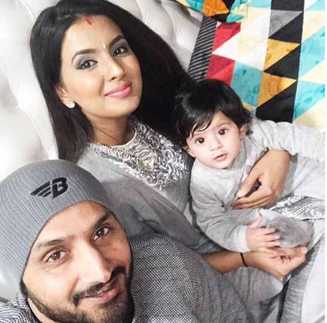 Harbhajan and Geeta celebrate their daughter Hinaya Heer's ...