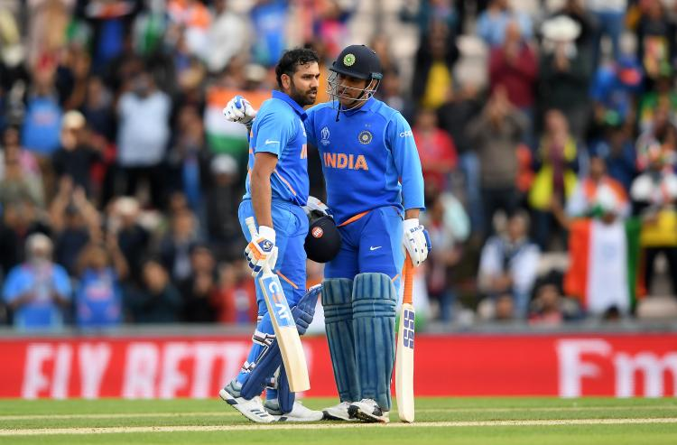 MS Dhoni gloves row: Rohit Sharma REFUSES to comment on the controversy