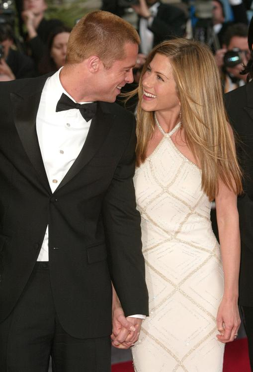 Brad Pitt,jennifer aniston,justin theroux,Hollywood