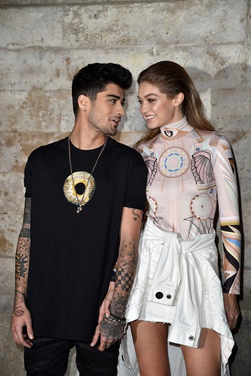 Gigi Hadid is impressed by Zayn Malik's new track, A Whole New World, from the Aladdin soundtrack.