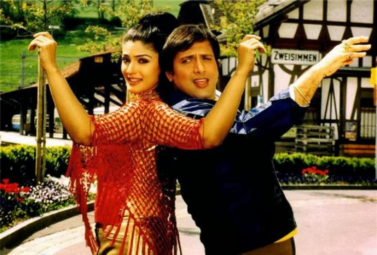 Govinda and raveena tandon to shake a leg together pinkvilla newsraveena tandongovinda thecheapjerseys Images
