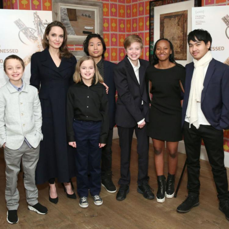 Here's how Angelina Jolie is as a mom to her six children; DETAILS INSIDE.