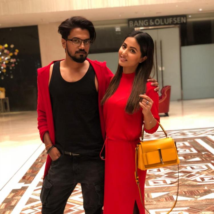 Hina Khan and boyfriend Rocky Jaiswal to appear on a TV show together? Read details
