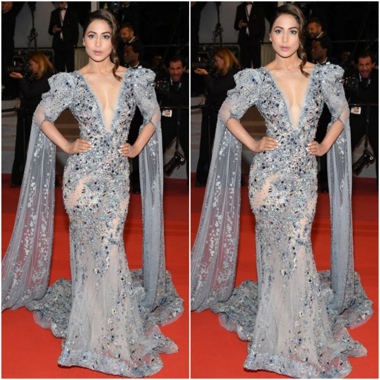 Celebrity Style,Hina Khan,Cannes 2019,hina khan cannes 2019