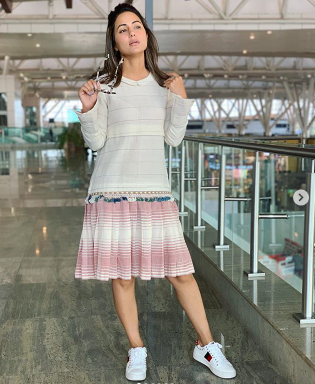 Fans of Kasuatii Zindagii Kay actor Hina Khan are inspired by her style; here's how she reacted