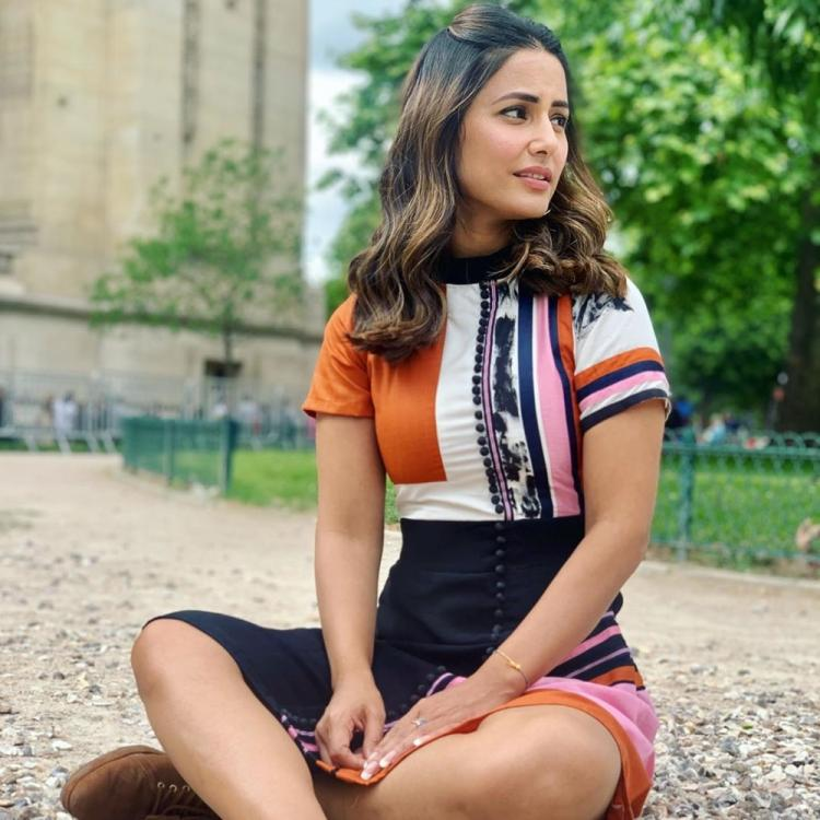 Hina Khan's has caught the Wanderlust bug and these photos of her are glorifying it in a gorgeous way
