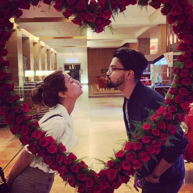 Hina Khan and her boyfriend Rocky Jaiswal's pics prove they are the 'IT' couple of TV industry