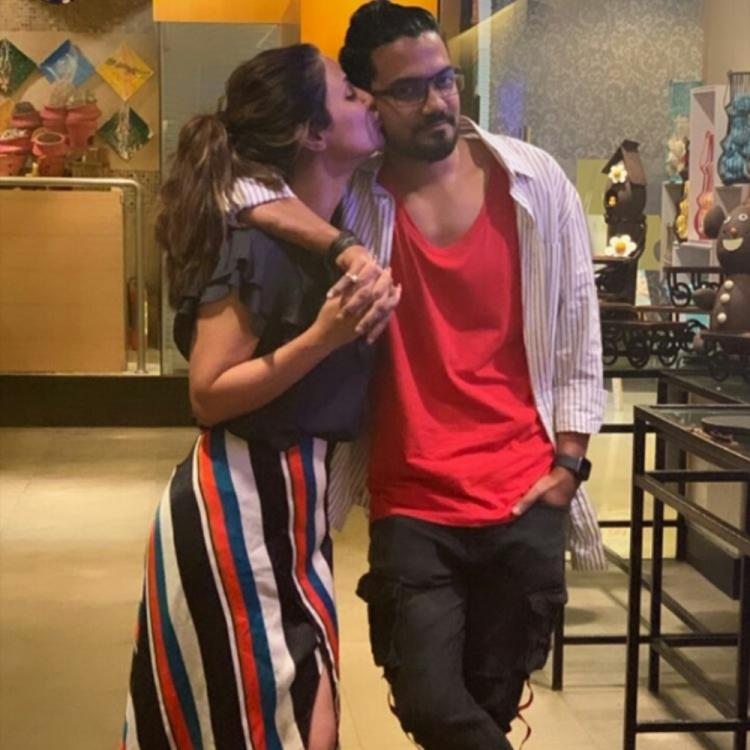 Hina Khan and Rocky Jaiswal's KISS is a declaration of their unconditional love for each other; See Pics
