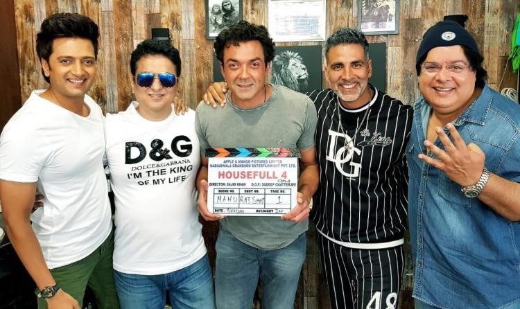 Discussion,akshay kumar,sajid khan,Housefull 4,Me Too