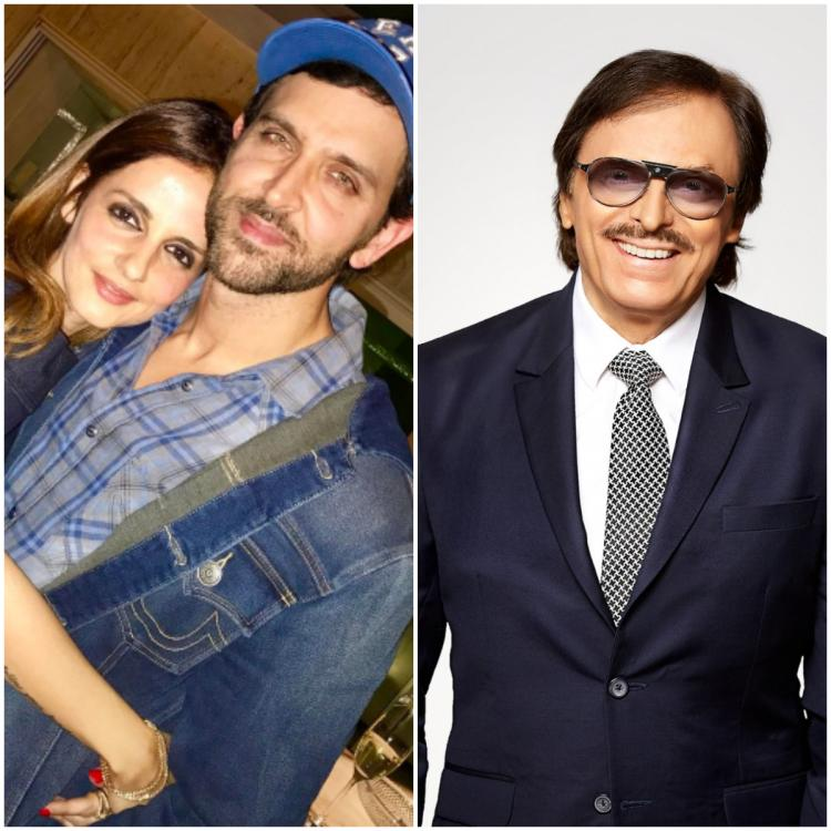 Image result for hrithik and sussanne and sanjay khan