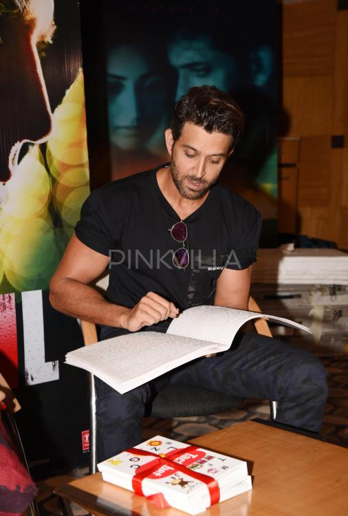 In Pics Hrithik Roshan Launches A Book For Visually