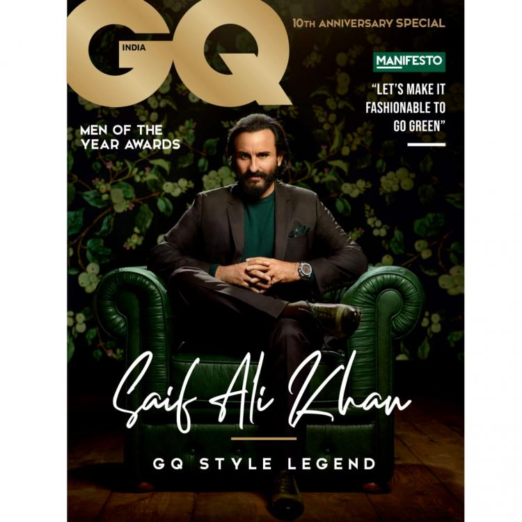 News,saif ali khan,GQ Covershoot