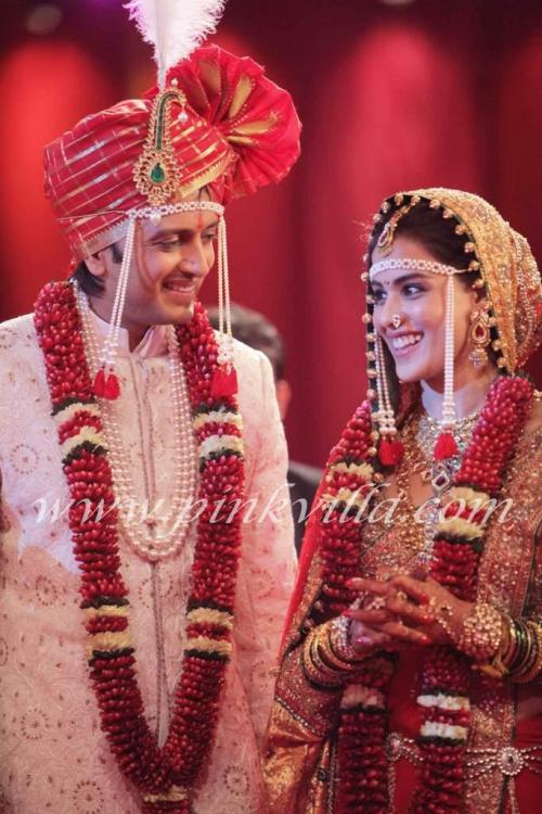 Eventgenelia Dsouzaritesh Deshmukhbollywood Celebrity Marriage