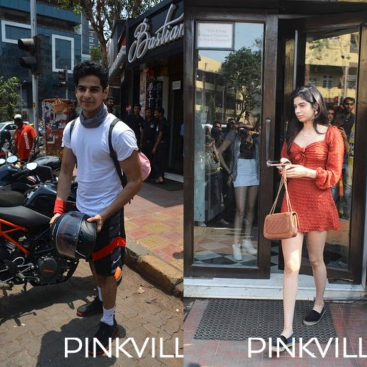 Ishaan Khatter and Khushi Kapoor spotted; get thronged for selfies by fans