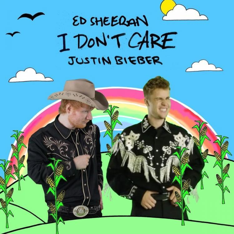 Ed Sheeran and Justin Bieber's official music video of 'I Don't ...