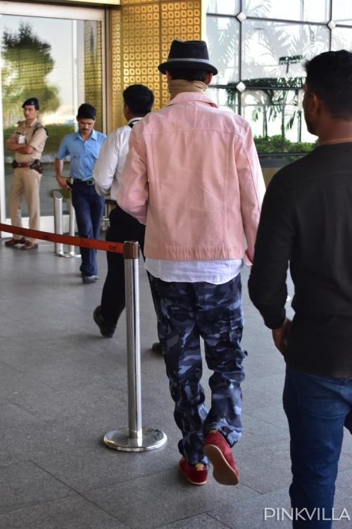 Irrfan Khan finally spotted by the paps for the first time in 8 months at the airport; View Pics