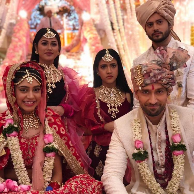 Ishqbaaz's Nakuul Mehta & Niti Taylor tease us with their marriage PHOTOS from the show on Valentine's Day