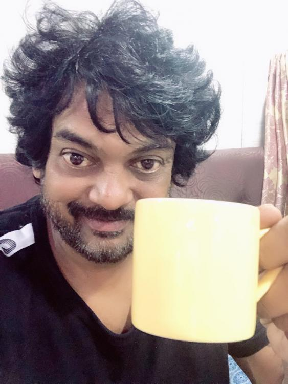 iSmart Shankar director Puri Jagannadh gets the most expensive coffee; Charmme Kaur has hilarious reaction