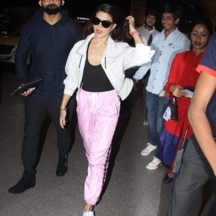 PHOTOS: Jacqueline Fernandez dons a sassy look at the airport