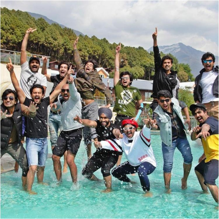South star Jiiva's latest photos with Ranveer Singh and team from the sets of '83 are complete squad goals