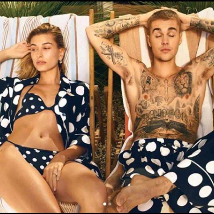 Hailey Bieber has a sweet message for husband Justin Bieber in this picture, check out