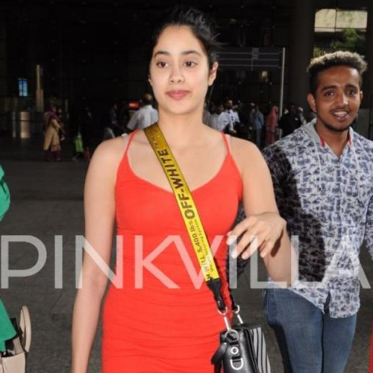 Janhvi Kapoor is the ravishing lady in red in her latest pictures from a photoshoot; check out