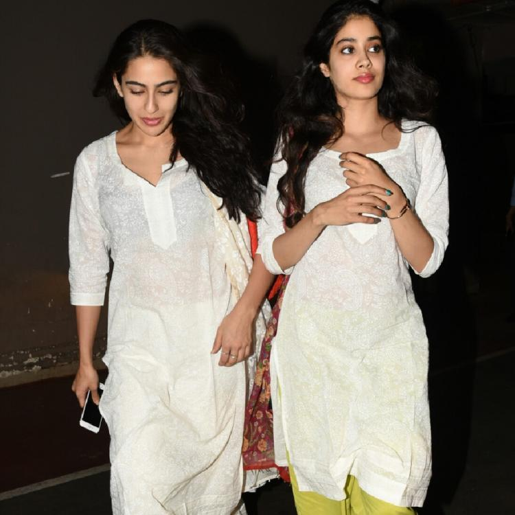 Janhvi Kapoor REVEALS she would invite Sara Ali Khan, Ananya Panday and Tara Sutaria for a slumber party