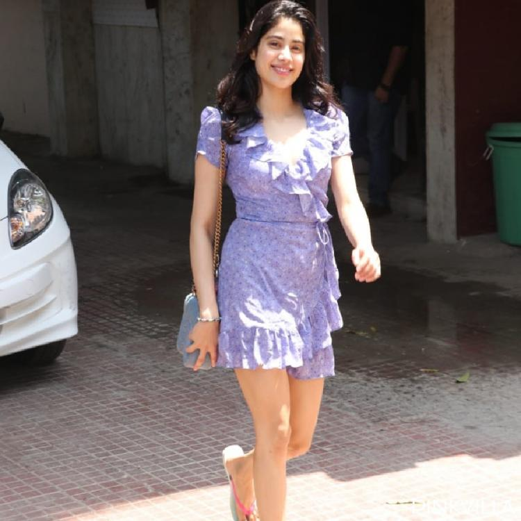 Janhvi Kapoor walks out of the gym in complete weekend mode with a million dollar smile; View Photos