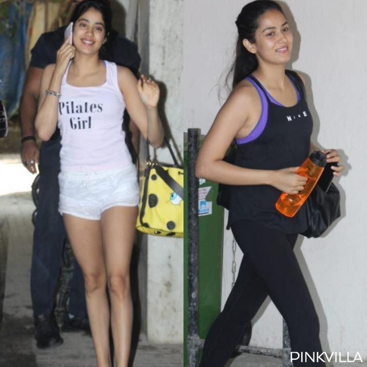 PHOTOS: Janhvi Kapoor is a 'Pilates Girl' in white at her workout sesh; Mira Rajput exits the gym with a smile