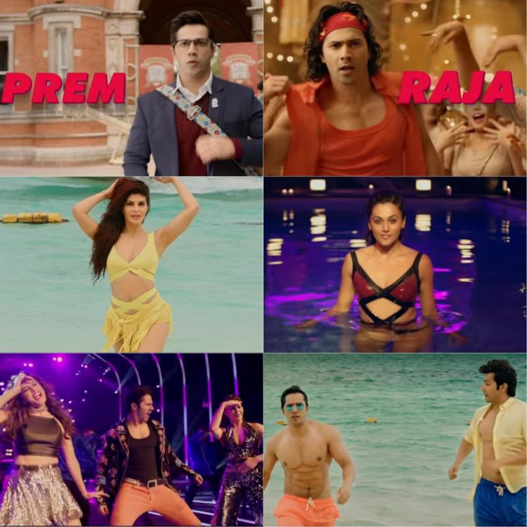 Image result for Feel the 90's with Varun Dhawan's twin avatar in Judwaa2, trailer release