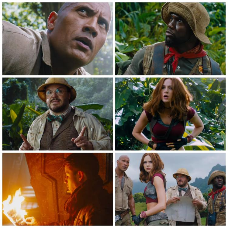 jumanji welcome to the jungle trailer the rock and kevin hart are back with a bang in this. Black Bedroom Furniture Sets. Home Design Ideas