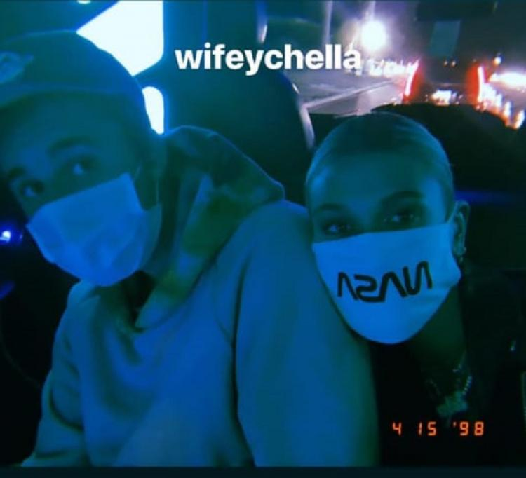 Justin Bieber and Hailey Baldwin take out time for a cute & romantic selfie at Coachella; see picture