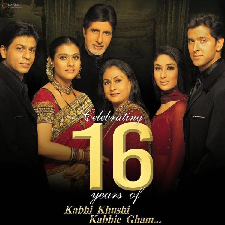 Kabhi Khushi Kabhie Gham Karan Johar: 16 Years Of Kabhi Khushi Kabhie Gham: Did You Know Kajol