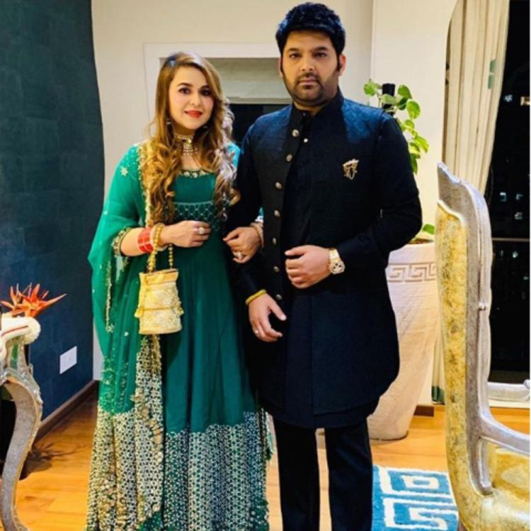 Kapil Sharma and wife Ginni Chatrath are all for celebrations; view PIC