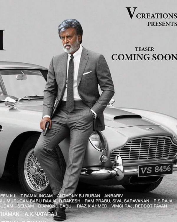 thalaiva is back rajinikanth looks suave in latest poster of kabali