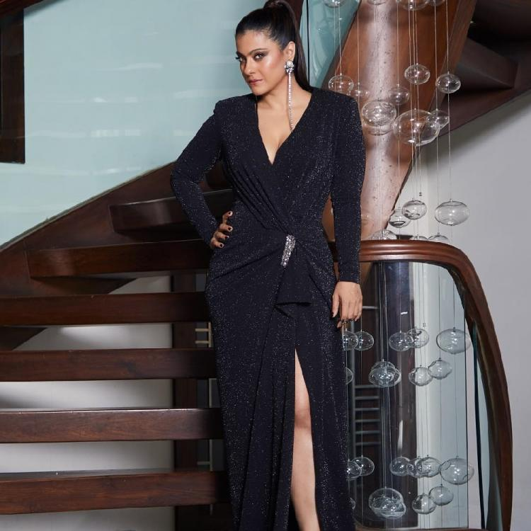 Filmfare Awards 2019: Kajol rocks the chic black look for the red carpet event of the year