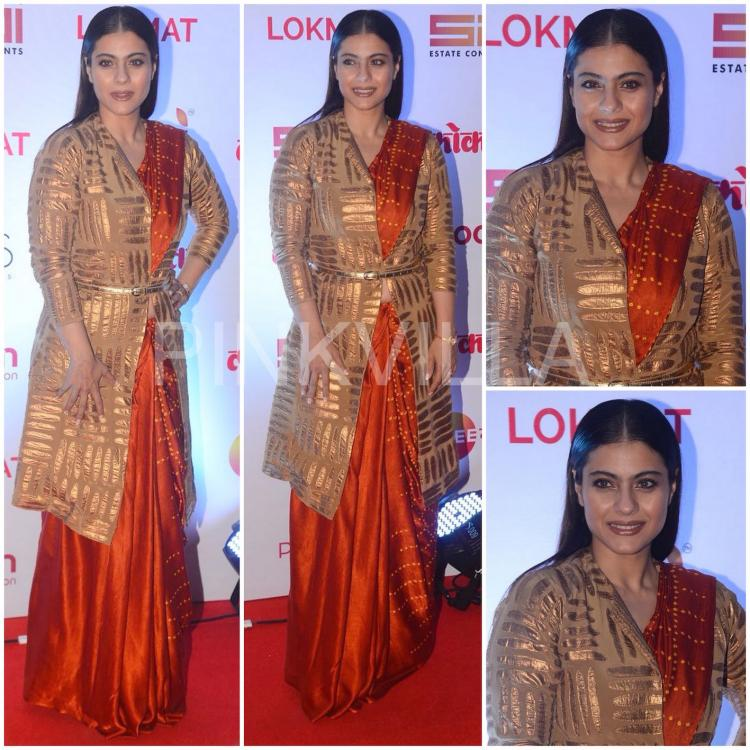 Celebrity Style,Kajol,Abraham and Thakore,Mohit Rai,Lokmat Awards,Masaba for Titan