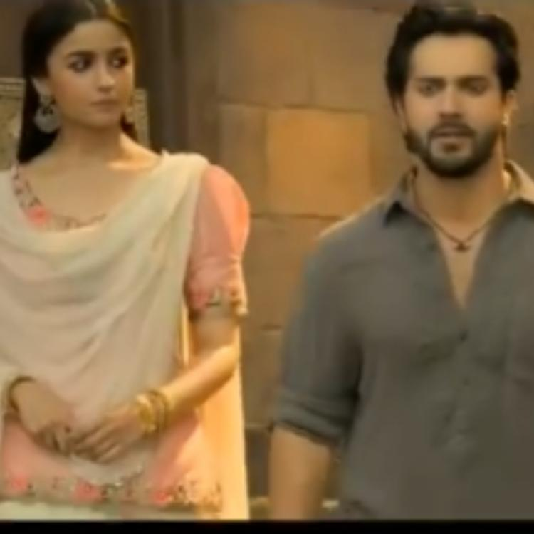 Kalank Trailer: Alia Bhatt shares a glimpse of the trailer prior to it's release; WATCH video