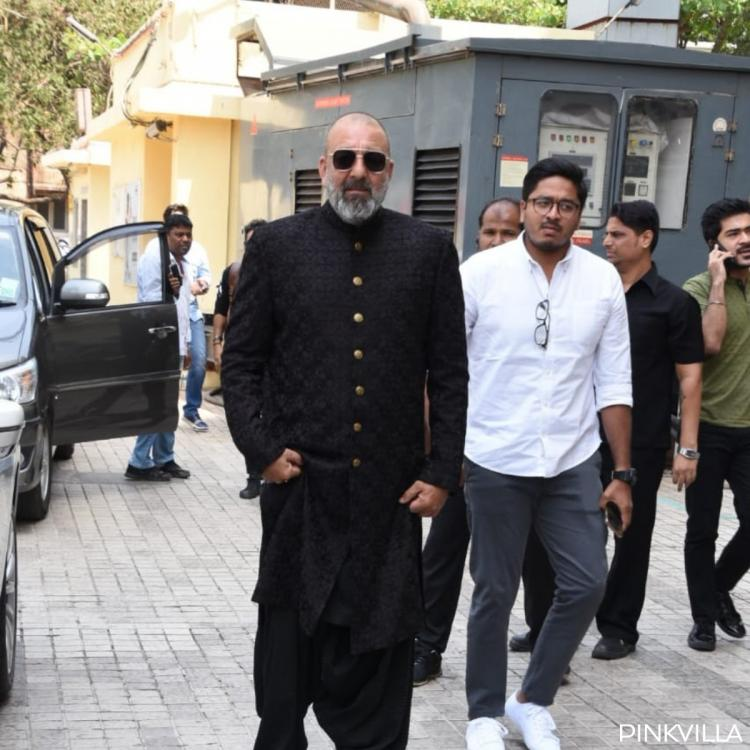 Kalank Teaser Launch: Sanjay Dutt on Madhuri Dixit 'It was a pleasure working with Ma'am'