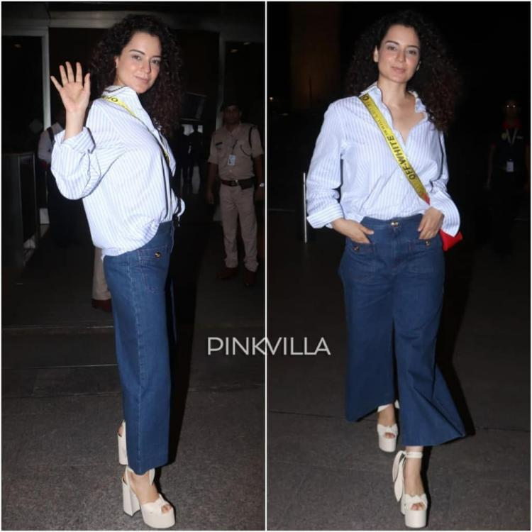 Celebrity Style,KANGANA RANAUT,airport,Cannes 2019,kangana ranaut cannes 2019,kangana cannes 2019,cannes 2019 kangana,kangana ranaut cannes,kangana at cannes 2019,kangana in cannes 2019,kangana ranaut at cannes 2019