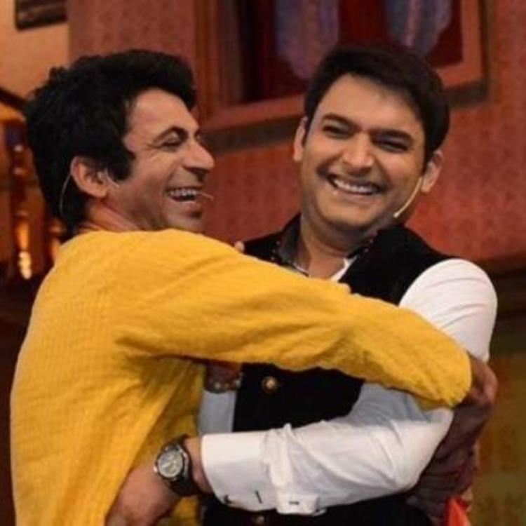 Kapil Sharma and Sunil Grover buried their differences? Duo attends Sohail Khan's party last night