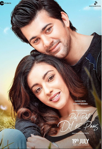 Sunny Deol shares the first look poster of his son Karan Deol's film Pal Pal Dil Ke Paas; check it out