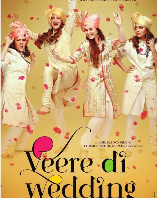 Image result for Sonam and Kareena's Veere Di Wedding will release on May 18, 2018
