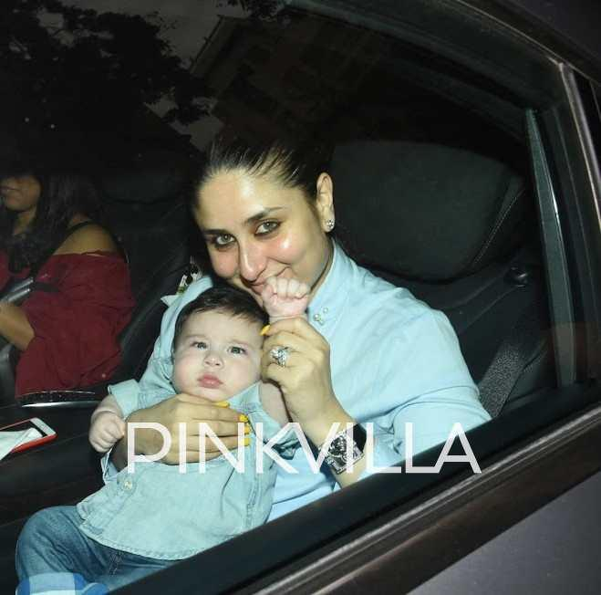 Image result for Actress Kareena takes break from movies for son Taimur
