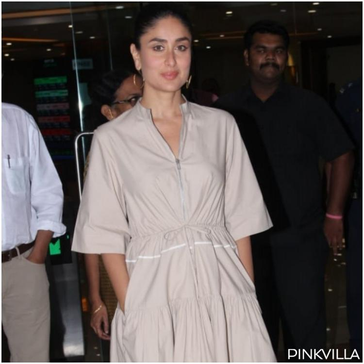 Kareena Kapoor Khan keeps it chic and stylish as she attends an event in Mumbai; See Pics