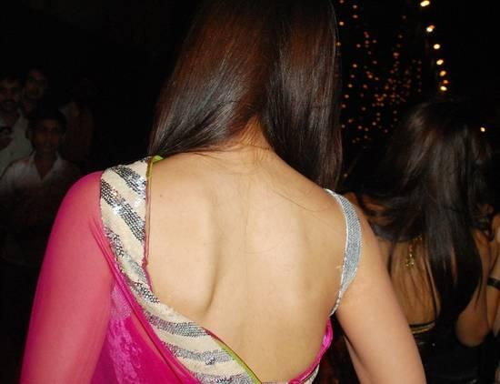 Kareena Kapoor`s super Hot back also seems to have magnetic properties since her man has been trailing her everywhere since the ...