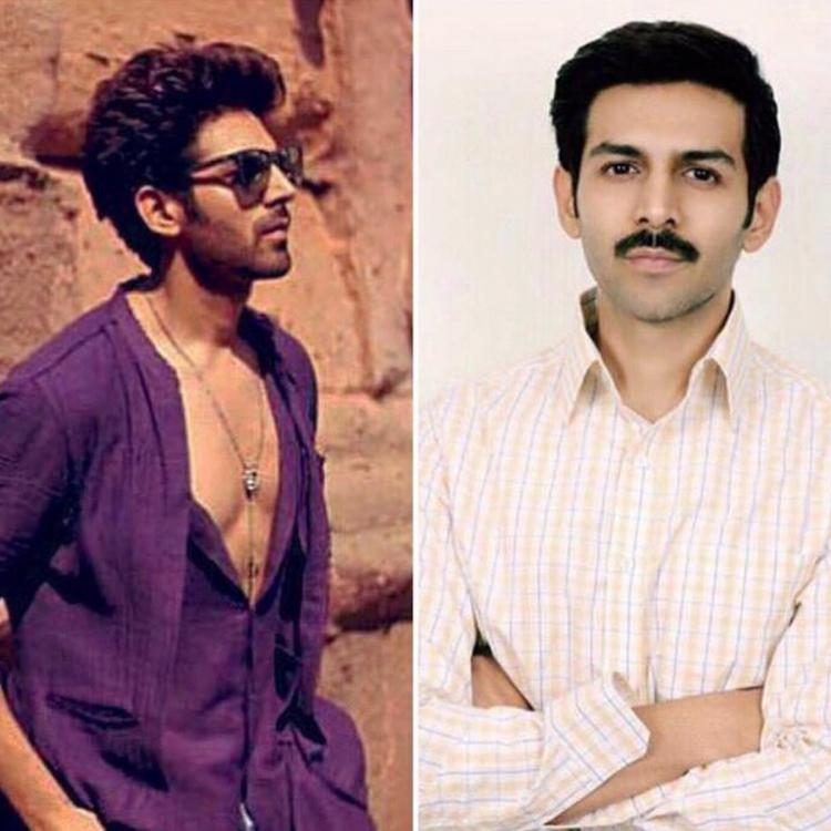 Kartik Aaryan gives the Internet fodder for hilarious memes; courtesy his first look from Pati Patni Aur Woh