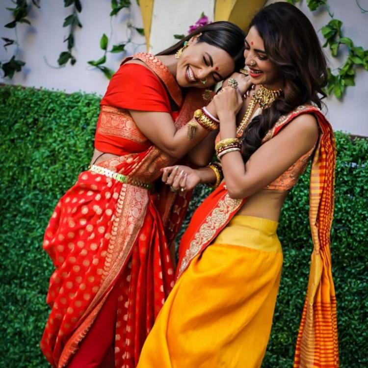 Kasautii Zindagii Kay's Hina Khan and Pooja Banerjeee's fun BTS pic is worth a dekko; See Pic