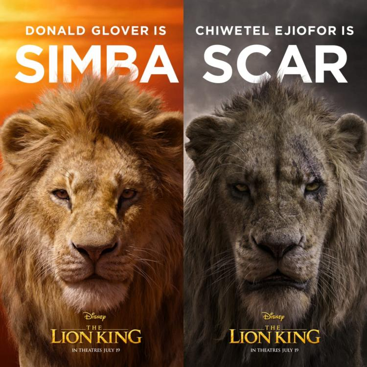 Oliver Travel Trailer >> The Lion King NEW Posters: Meet Simba, Nala, Scar, Mufasa ...